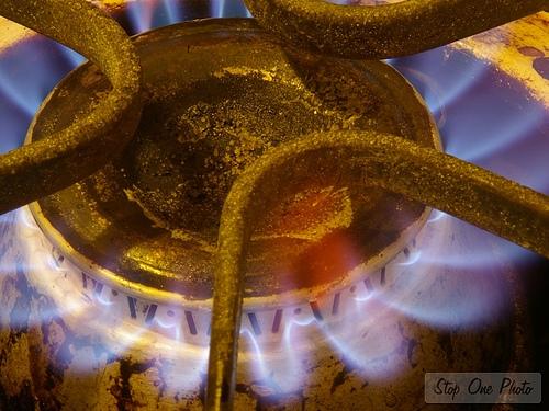 Front burner
